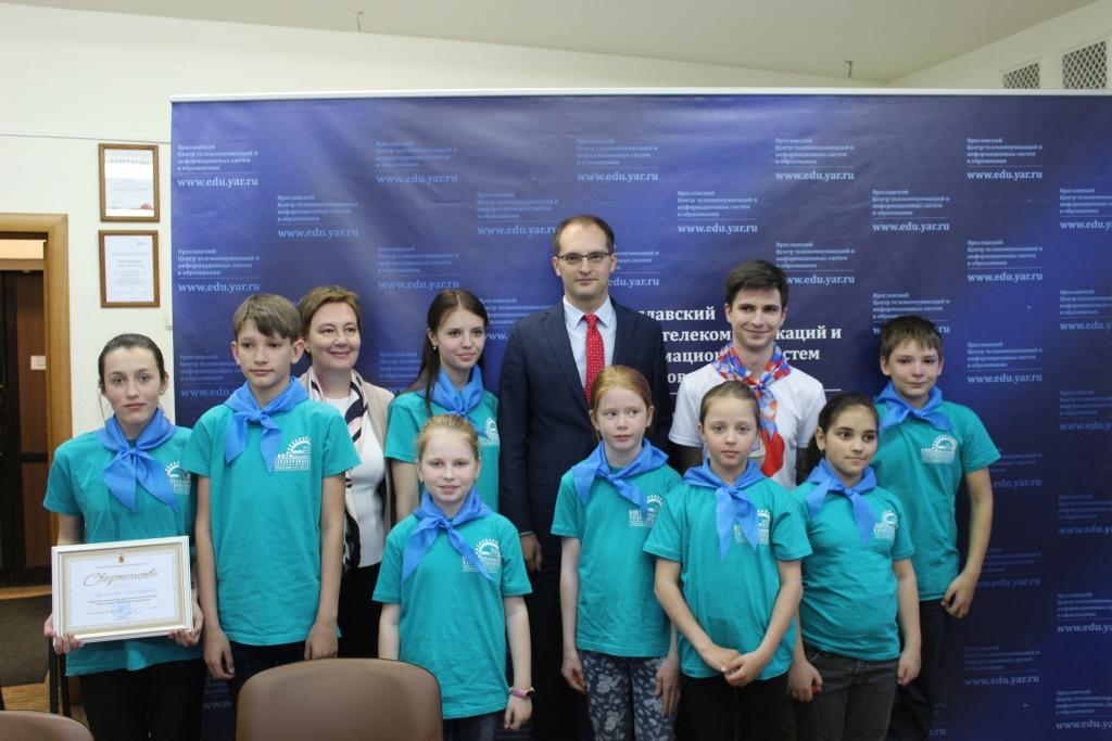Школьники области приняли участие в экологическом онлайн-уроке, посвященном Дню Волги