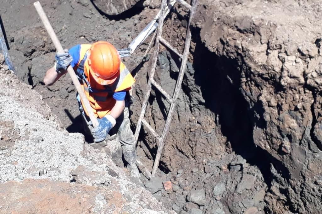 В муниципальных районах идет замена аварийных участков водопровода