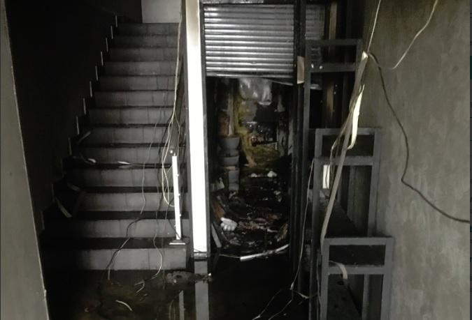 В центре Ярославля произошел пожар