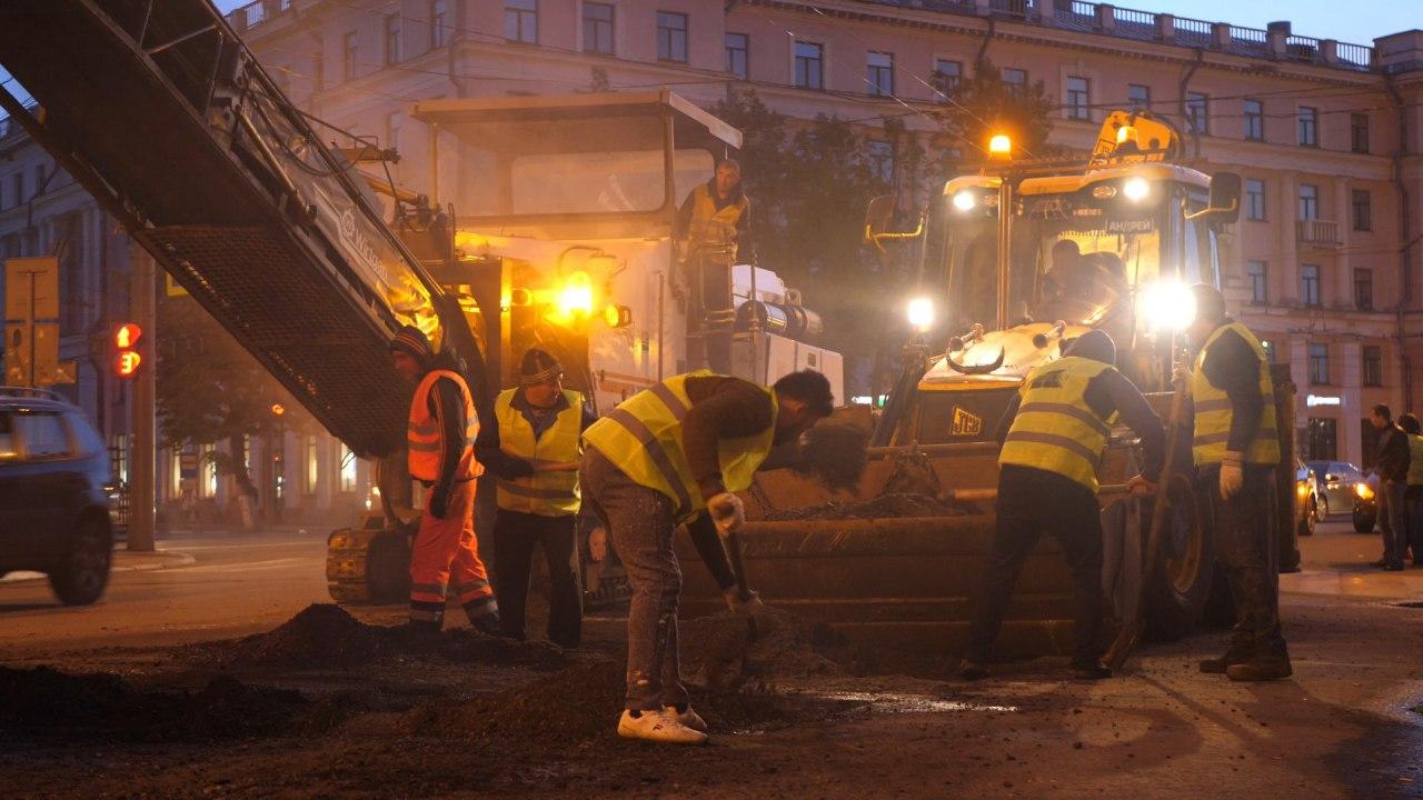 На центральных улицах Ярославля начали ямочный ремонт