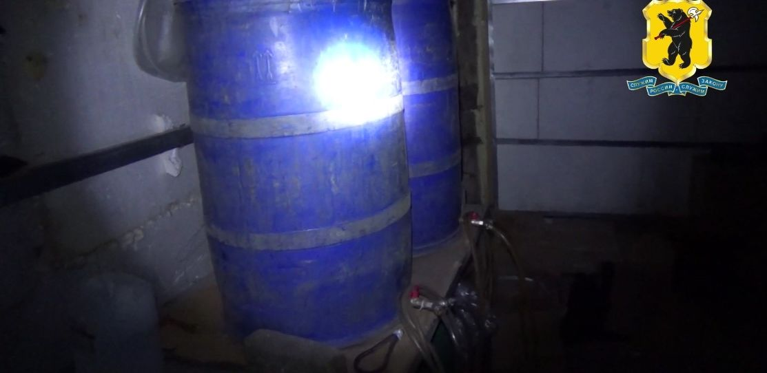 В Ярославле накрыли подпольный цех по производству алкоголя