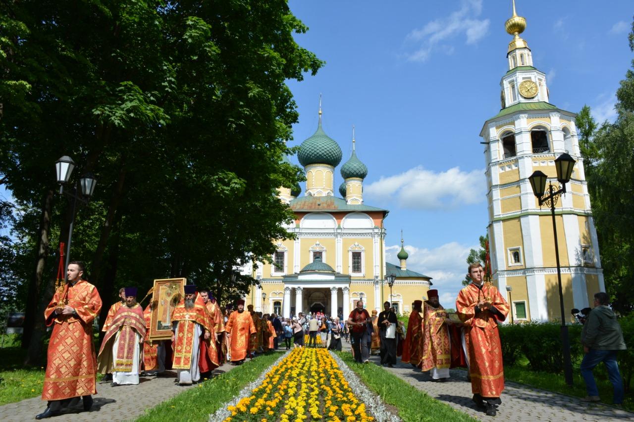 В Угличе прошел Всероссийский православный детский праздник