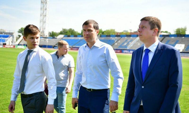 Мэр Ярославля проверил состояние стадиона «Шинник»
