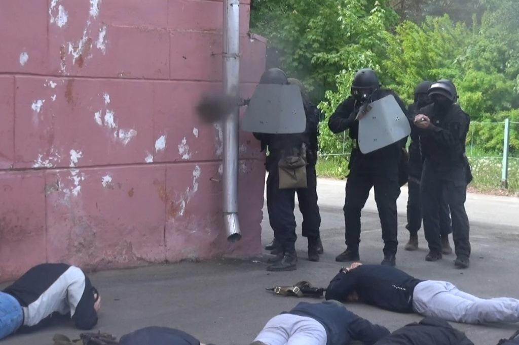 В Рыбинске проведены антитеррористические учения: фото