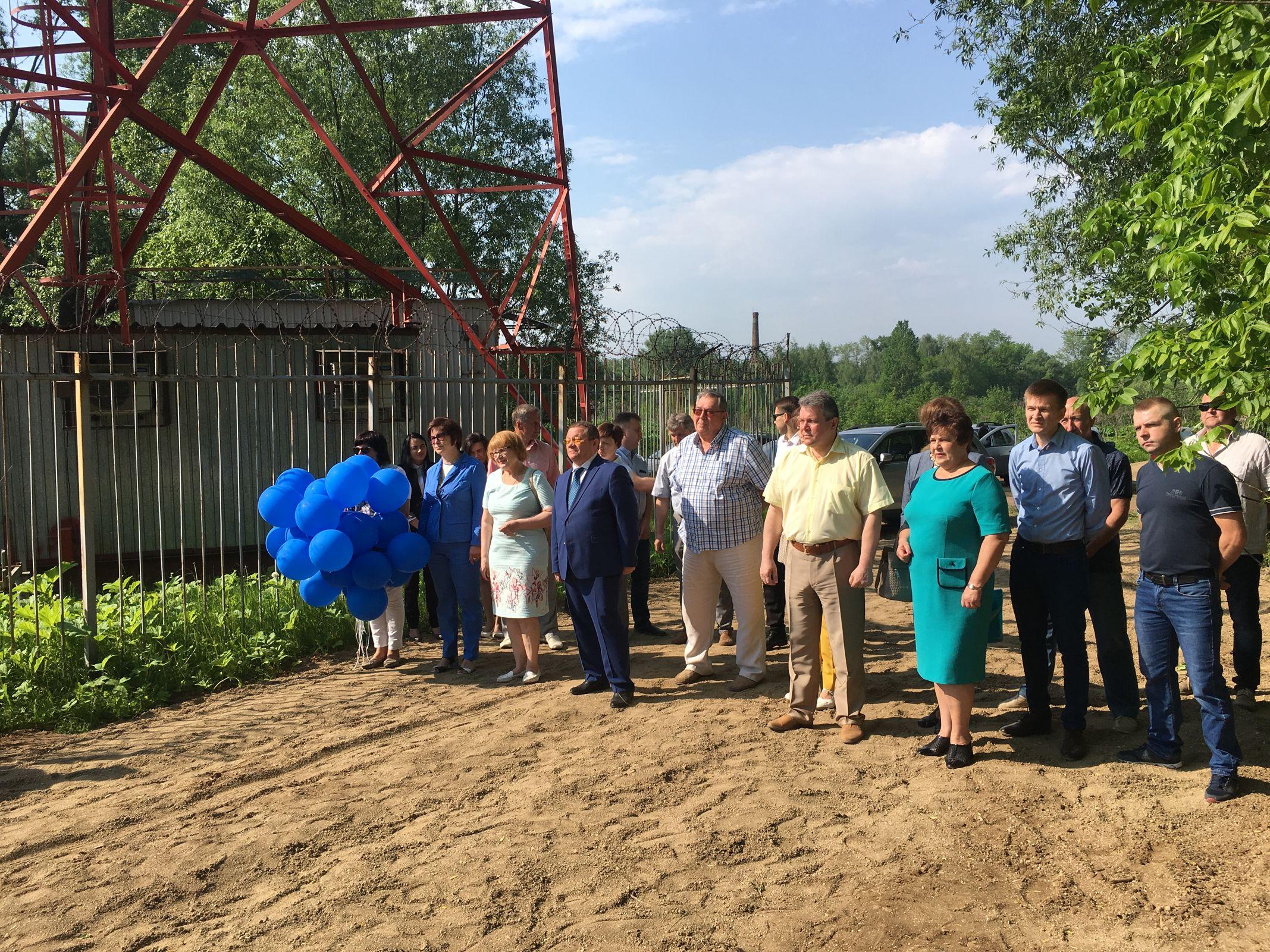 Под Ярославлем открылась новая насосная станция