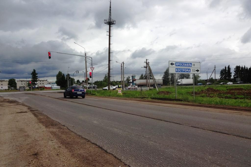 В Ярославской области в рамках нацпроекта начались работы на четырех дорогах