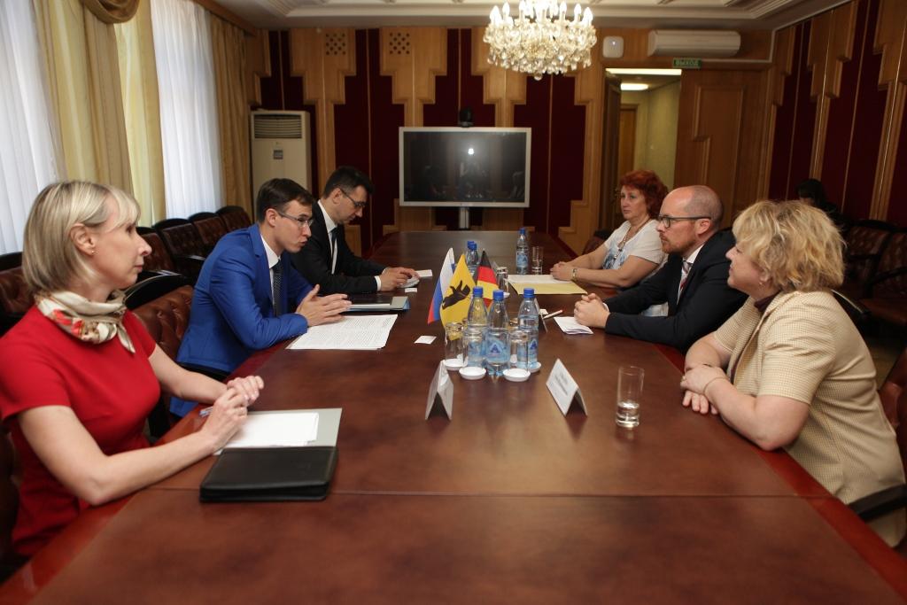 Представители крупных немецких компаний приедут в Ярославль