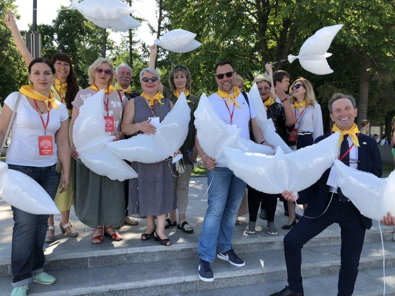 Ярославские театры приняли участие в параде Всероссийского театрального марафона