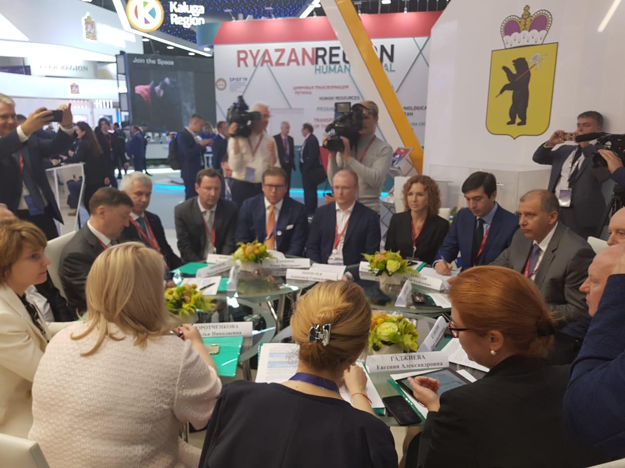 На Петербургском форуме оценили потенциал ярославских предприятий