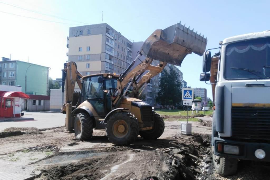 В Тутаеве в рамках нацпроекта отремонтируют две дороги