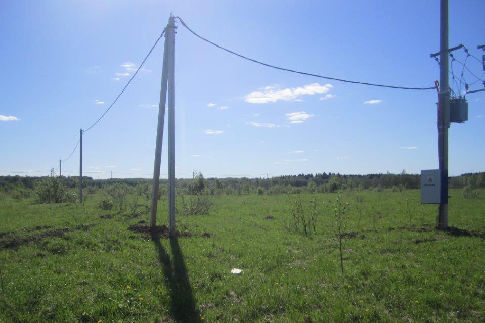 Под Ярославлем провели электричество к участкам, предоставленным многодетным семьям