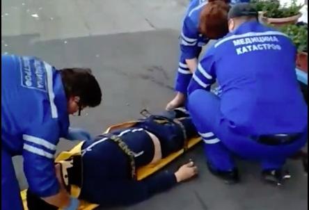 Ярославец получил серьезные травмы, решив спуститься с седьмого этажа на простынях