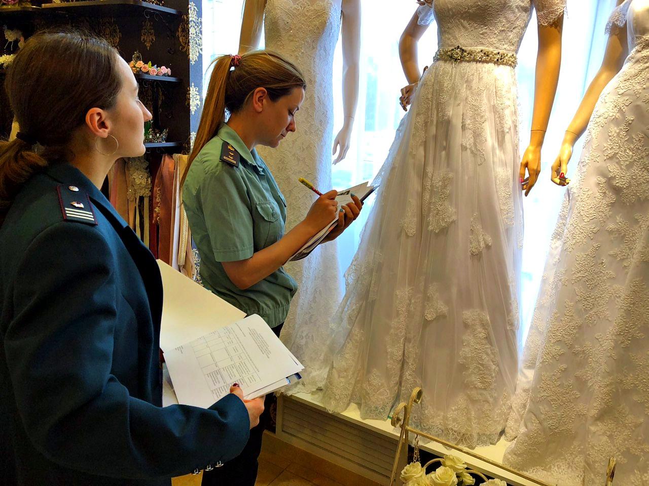 После ареста свадебного платья ярославский предприниматель заплатил налоги