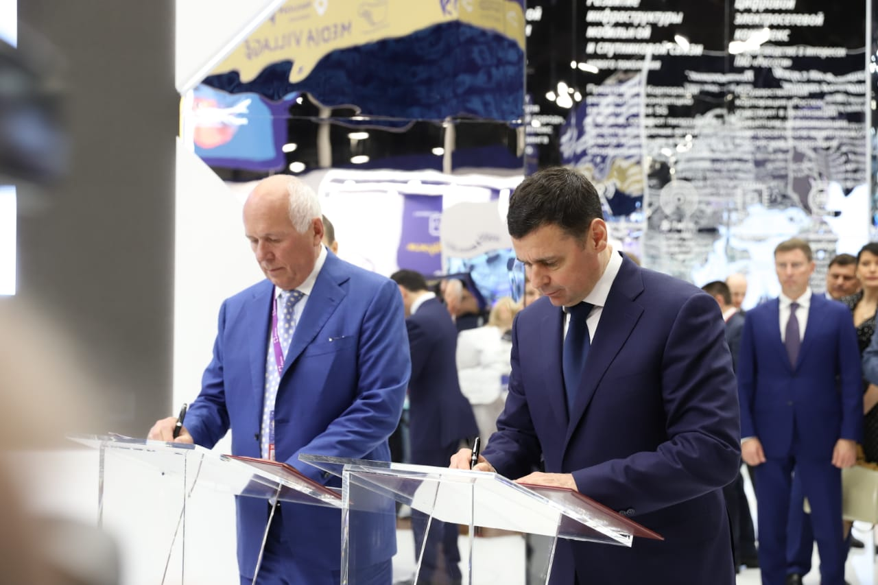 Дмитрий Миронов: взаимодействие с Ростехом позволит повысить промышленный и экспортный потенциал Ярославской области