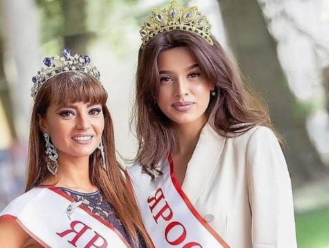 Сексуальная ярославна завоевала титул и корону на конкурсе красоты