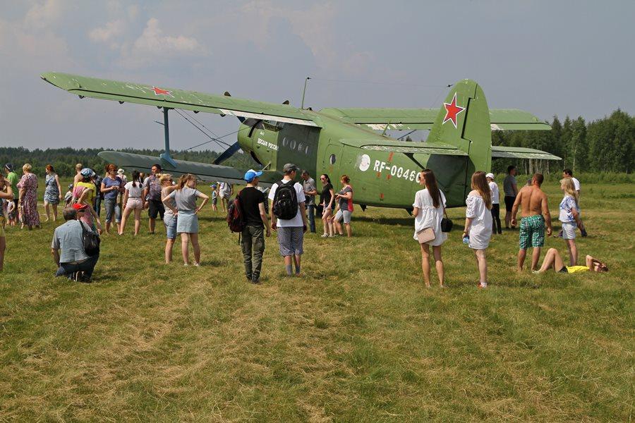 В Ярославской области состоялся авиафестиваль «Рыбинское небо»: фото