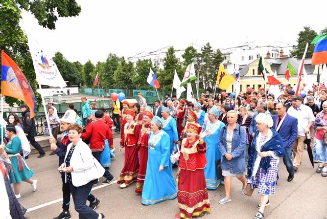 В Ярославской области прошли праздничные мероприятия, посвященные Дню России