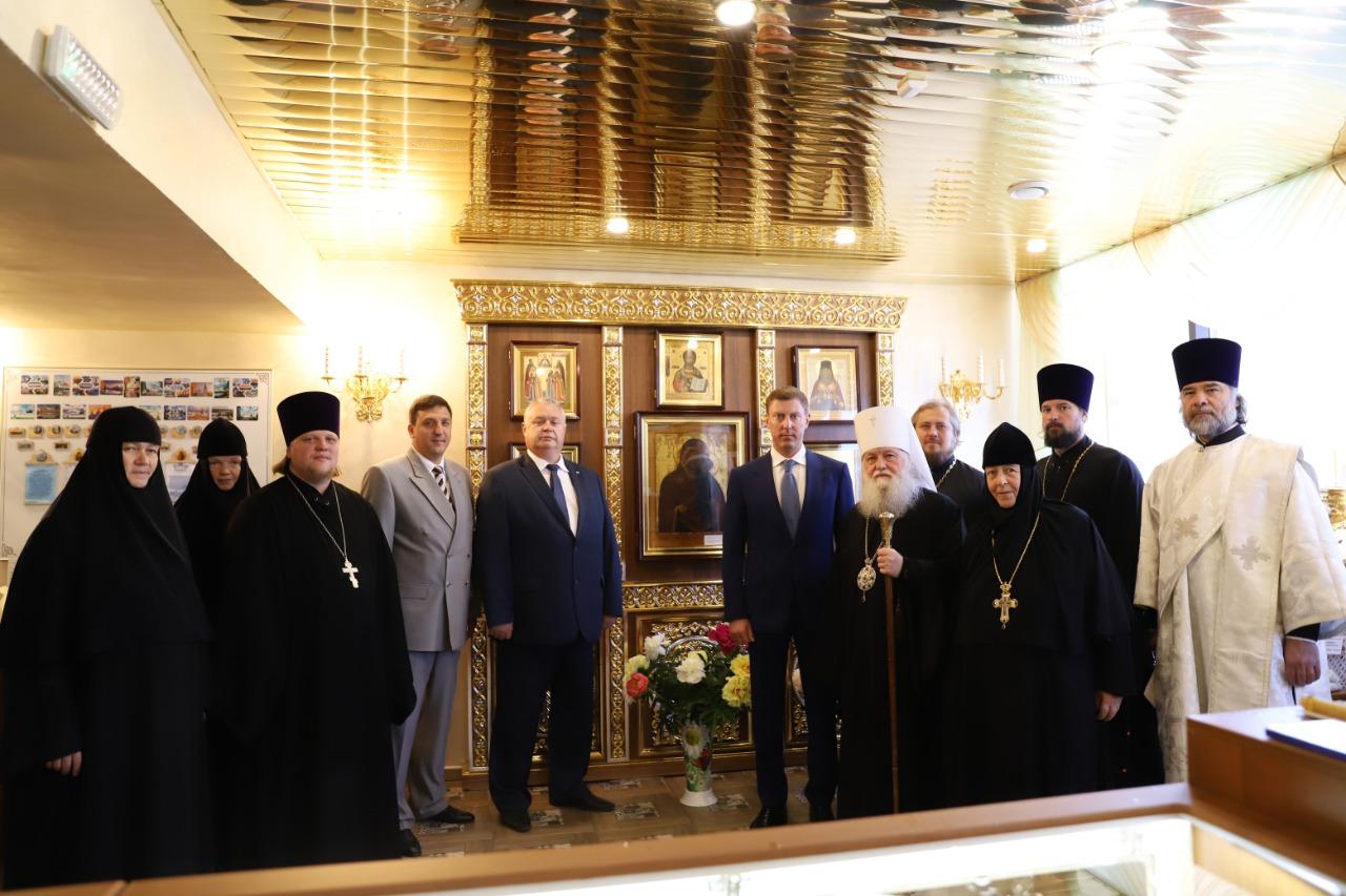 На Ярославле-Главном освятили часовню в честь Толгской иконы Божией Матери