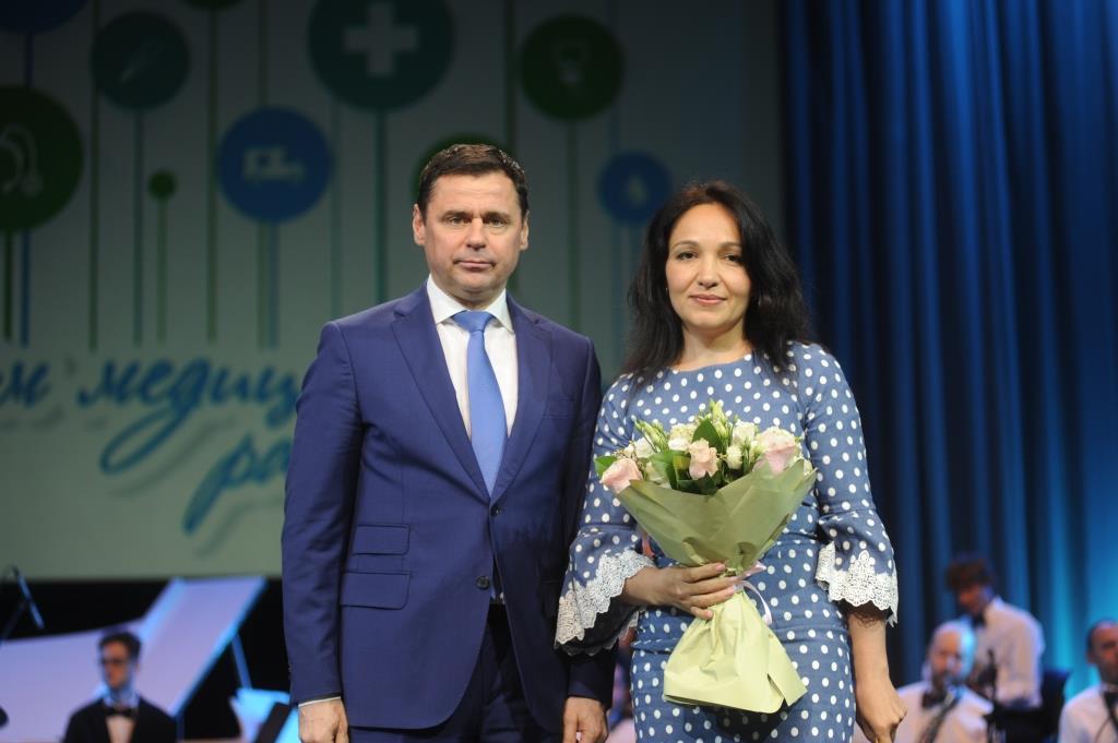 Дмитрий Миронов вручил награды медицинским работникам