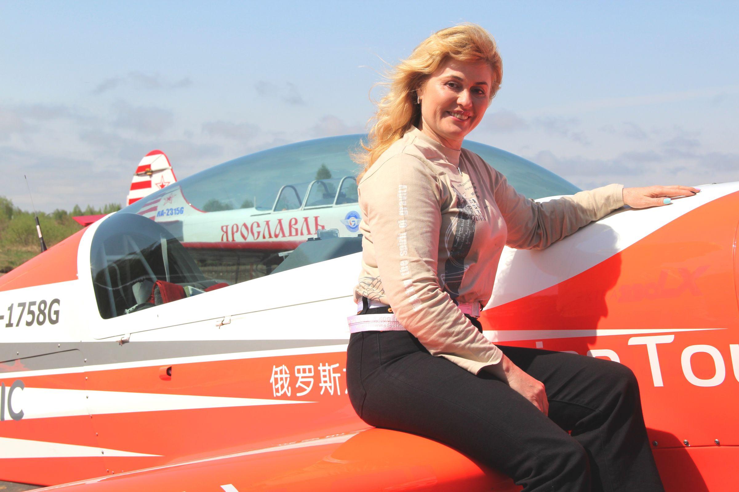 Танец в облаках. Чемпионка мира по самолетному спорту рассказала о выступлении в Ярославле