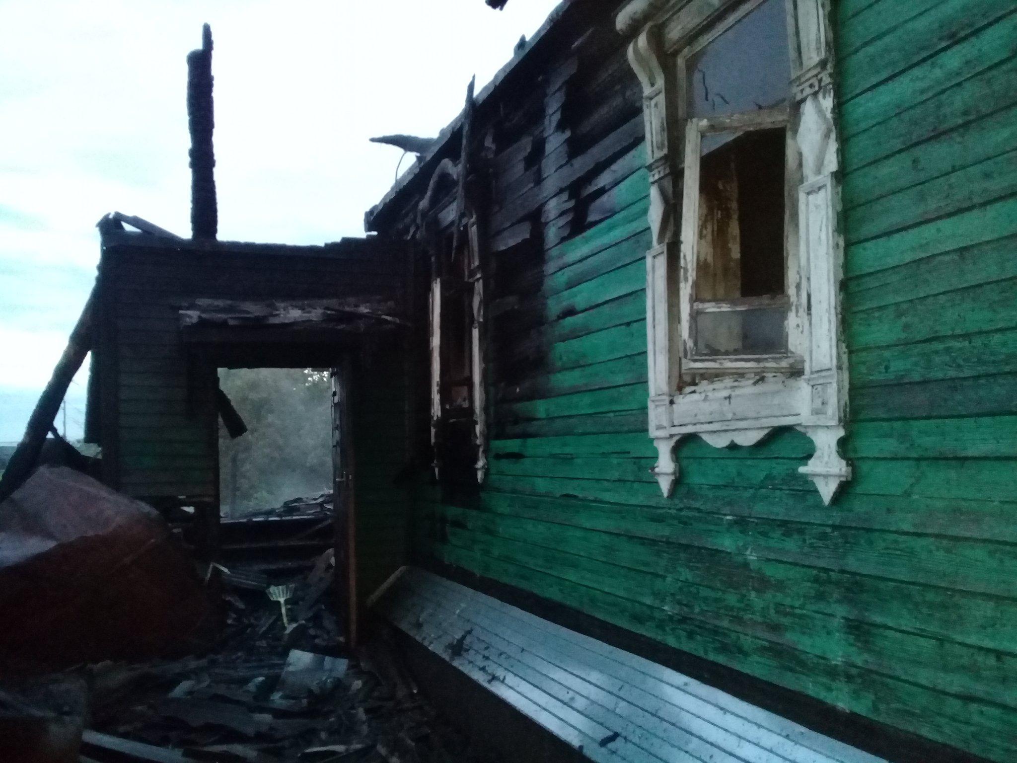 В Ярославле в пожаре погибла активистка, выступавшая против предпринимателей