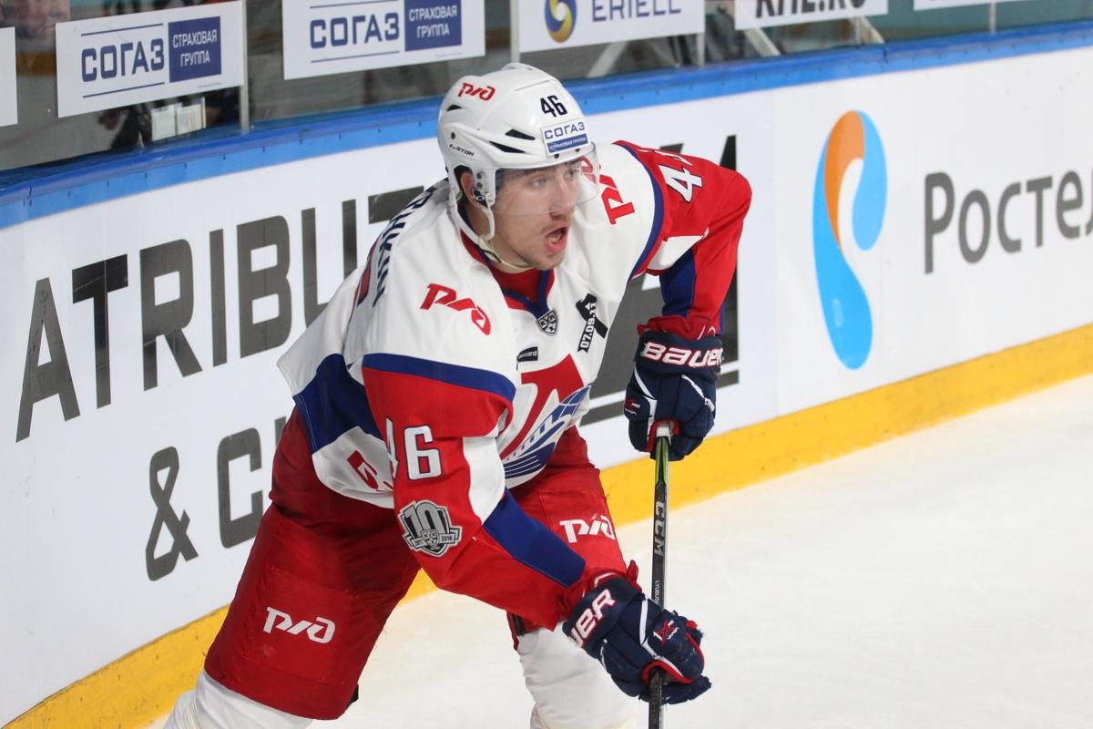 Бывший защитник «Локомотива» Любушкин подписал новый контракт с клубом НХЛ