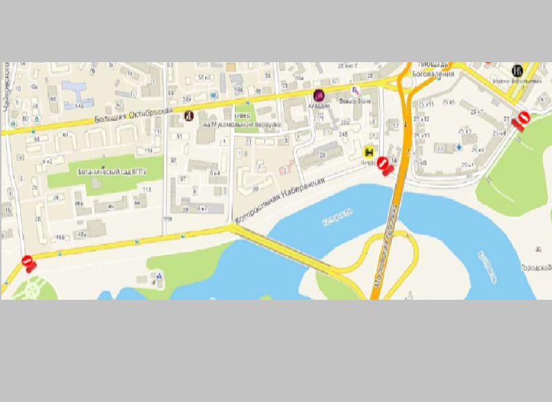В центре Ярославля перекроют участок набережной: схема