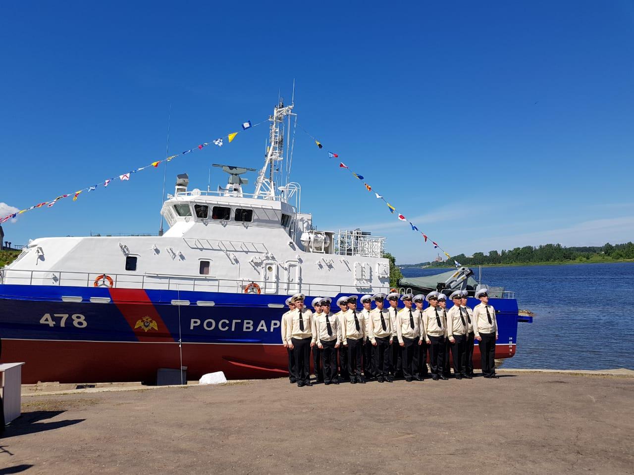 Дмитрий Миронов: рыбинское предприятие построит четыре катера для борьбы с террористами