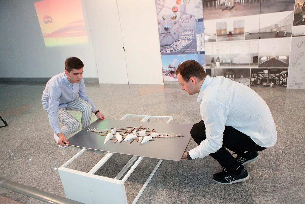 Ярославские студенты представили проекты благоустройства городов региона: кадры