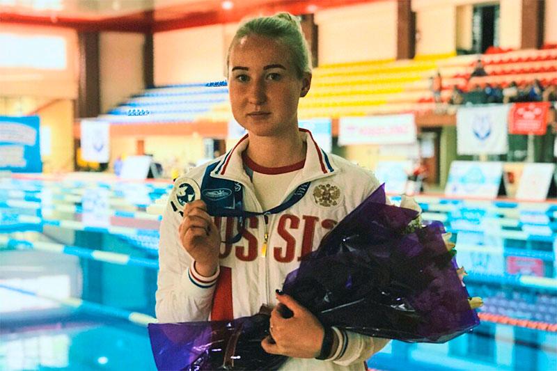 Ярославна установила рекорд России на чемпионате Европы по подводному спорту