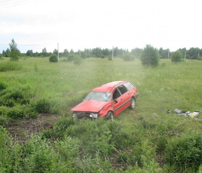 Смертельное ДТП в Ярославской области: иномарка перевернулась в кювет
