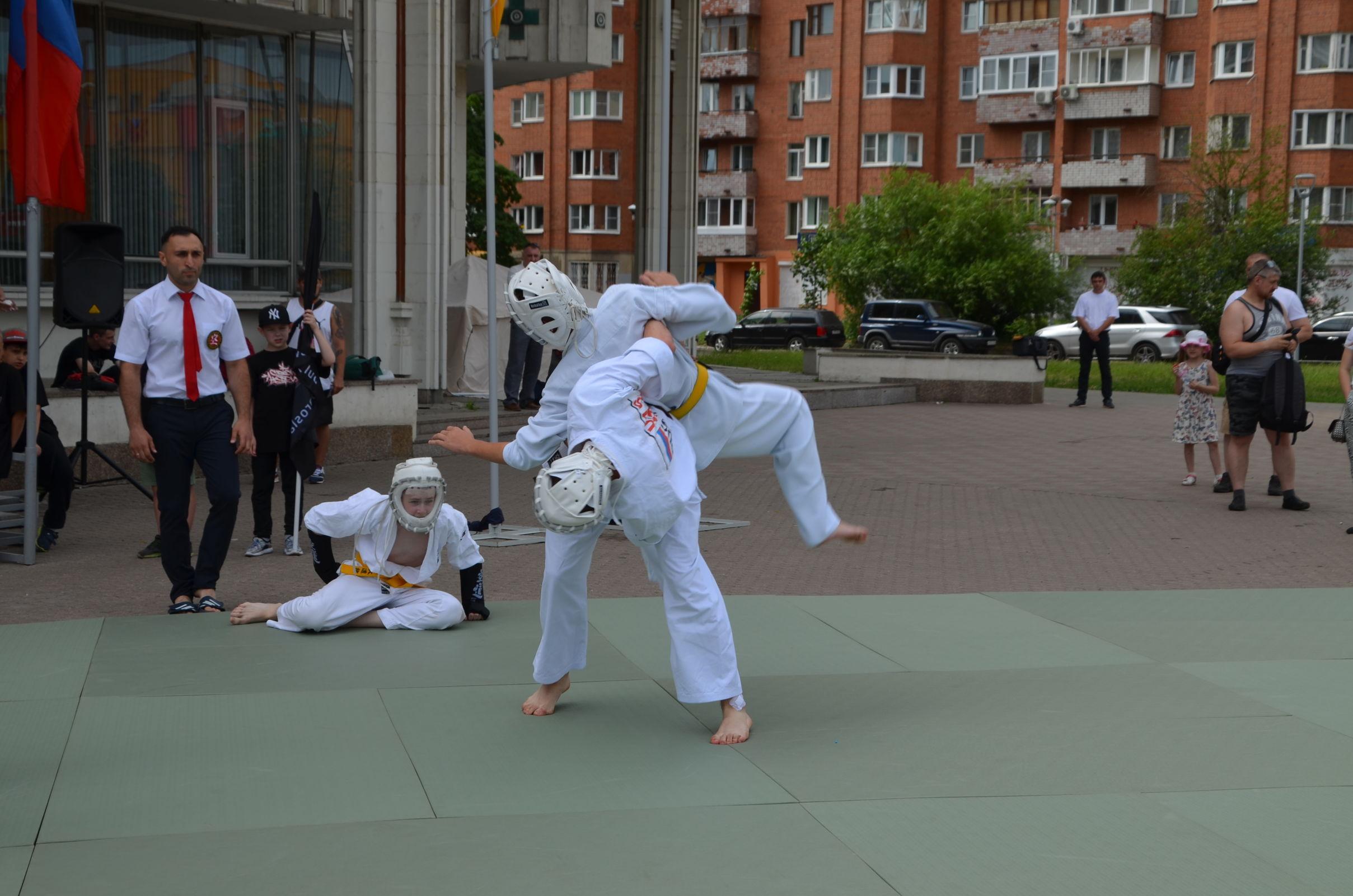 Бои с участием чемпионки мира прошли в центре Ярославля