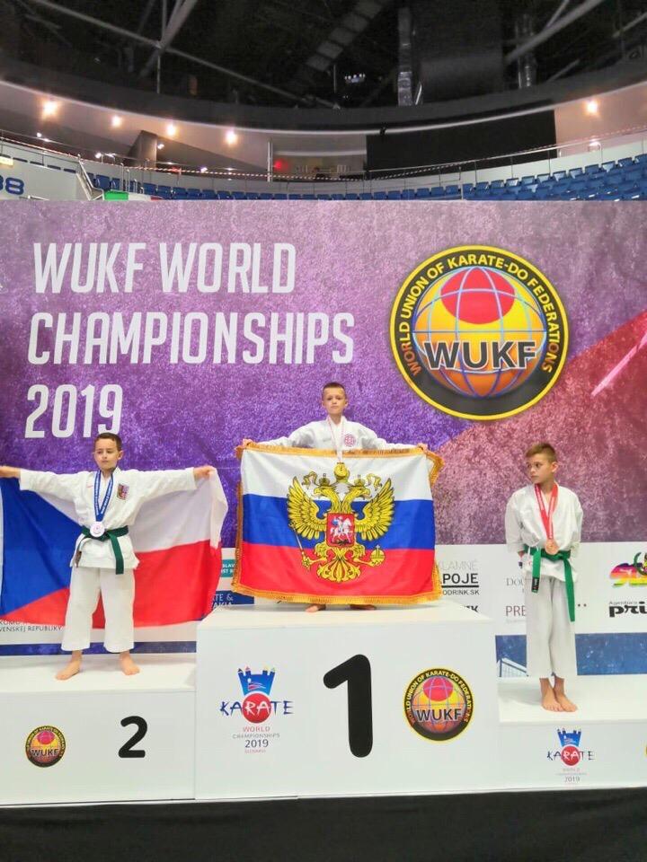 Ярославские каратисты завоевали медали первенства мира