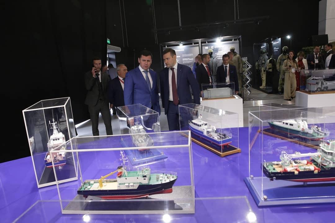 Дмитрий Миронов: 8 ярославских предприятий представили продукцию на форуме «Армия-2019»