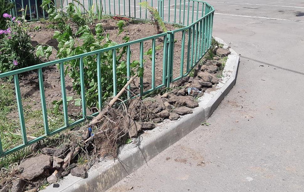 Власти отреагировали на пост ярославны в соцсетях о некачественном ремонте двора