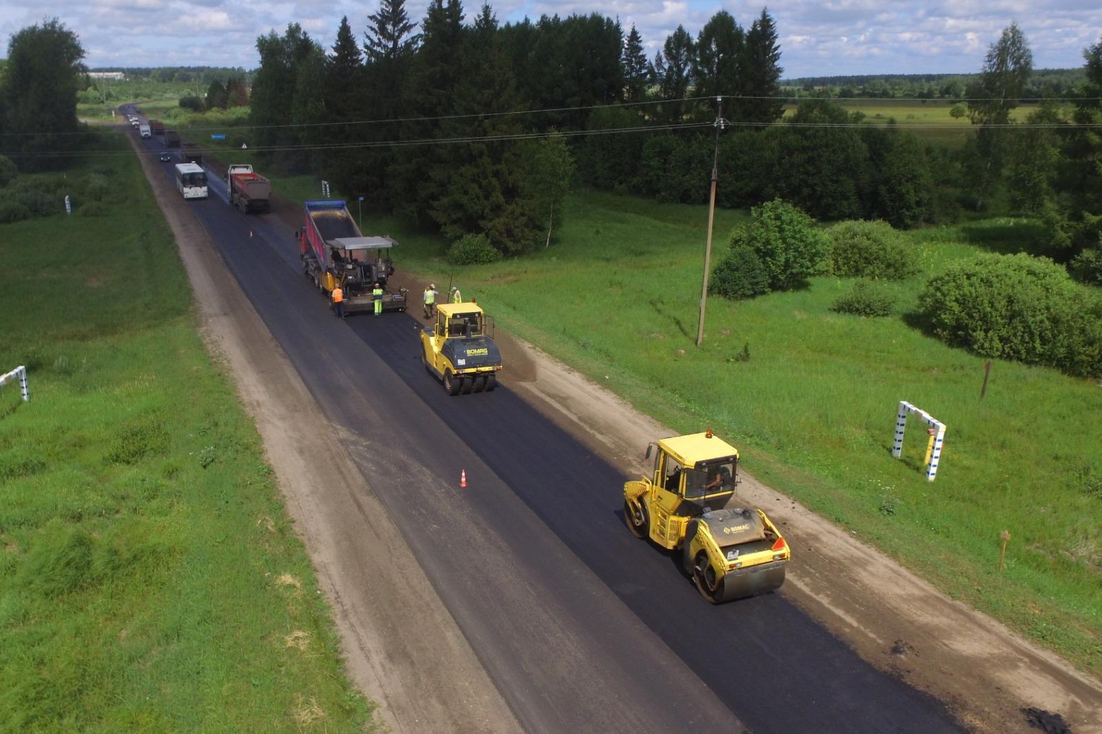Ремонт ивановской трассы в Ярославле планируют завершить в июле