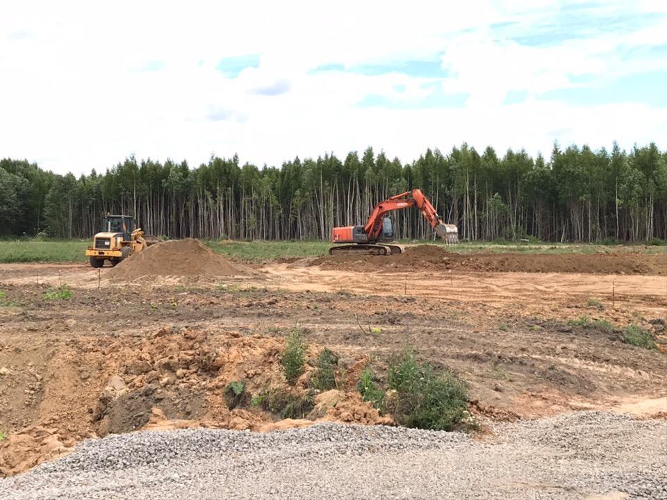 Под Рыбинском начали строить новое кладбище