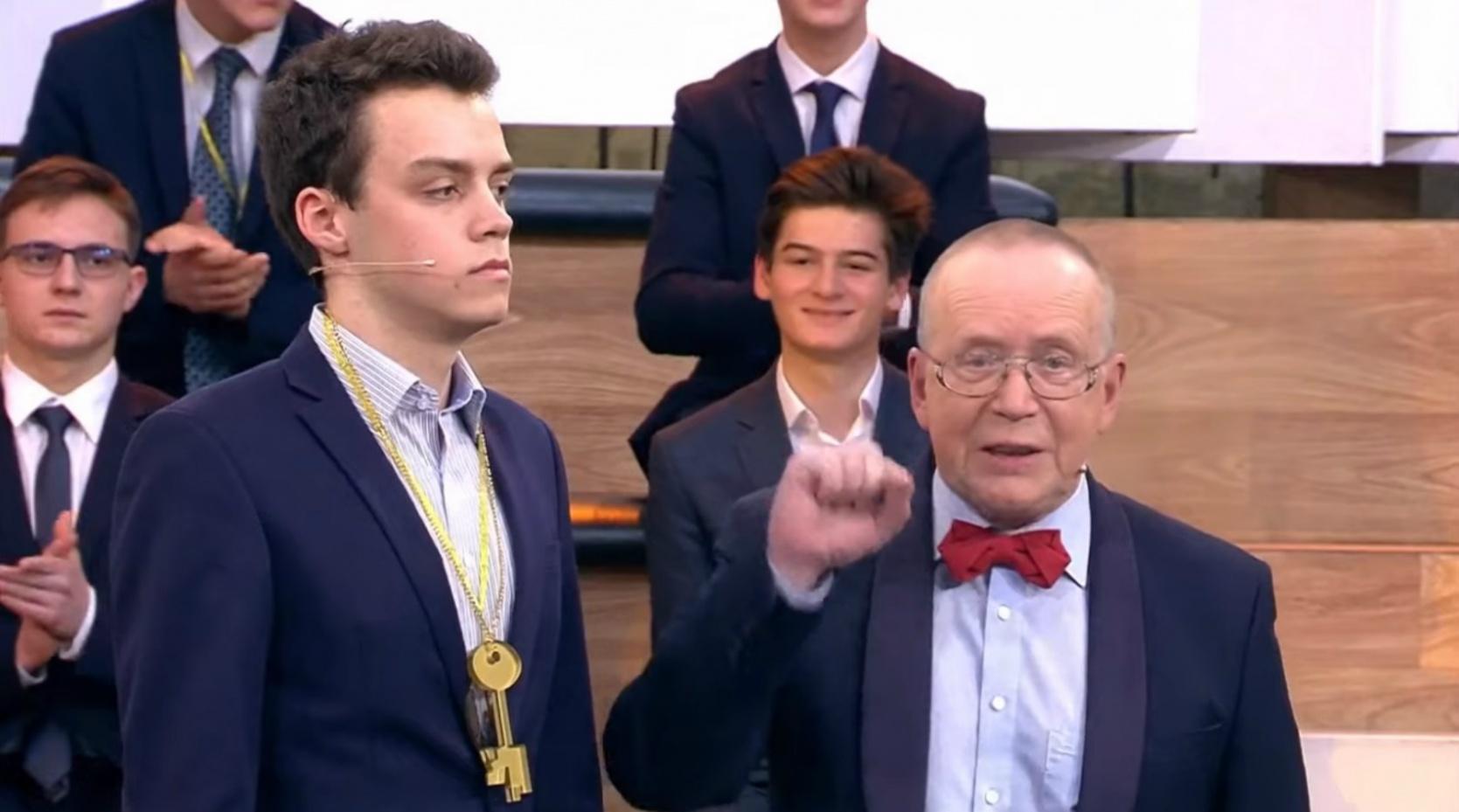 Ярославский выпускник стал одним из победителей шоу «Умницы и умники»