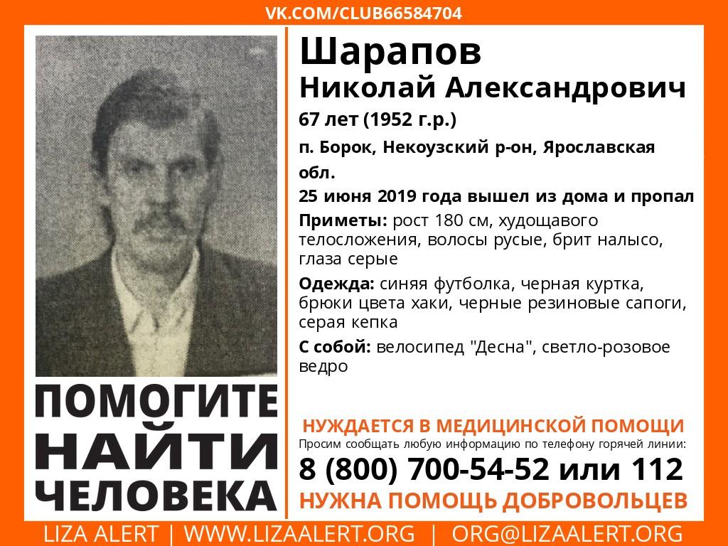 В Ярославской области пропал 67-летний мужчина на велосипеде