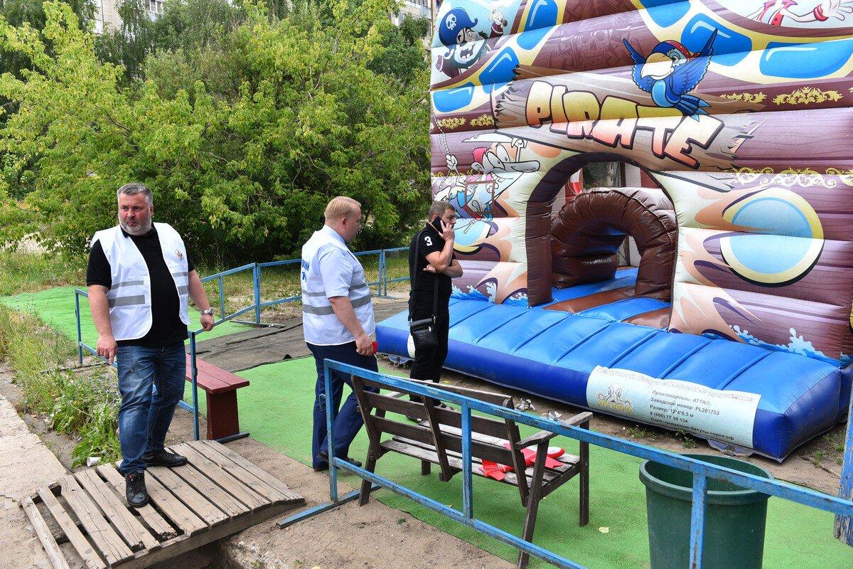 В Ярославле проверили детские батуты: какие нарушения нашли