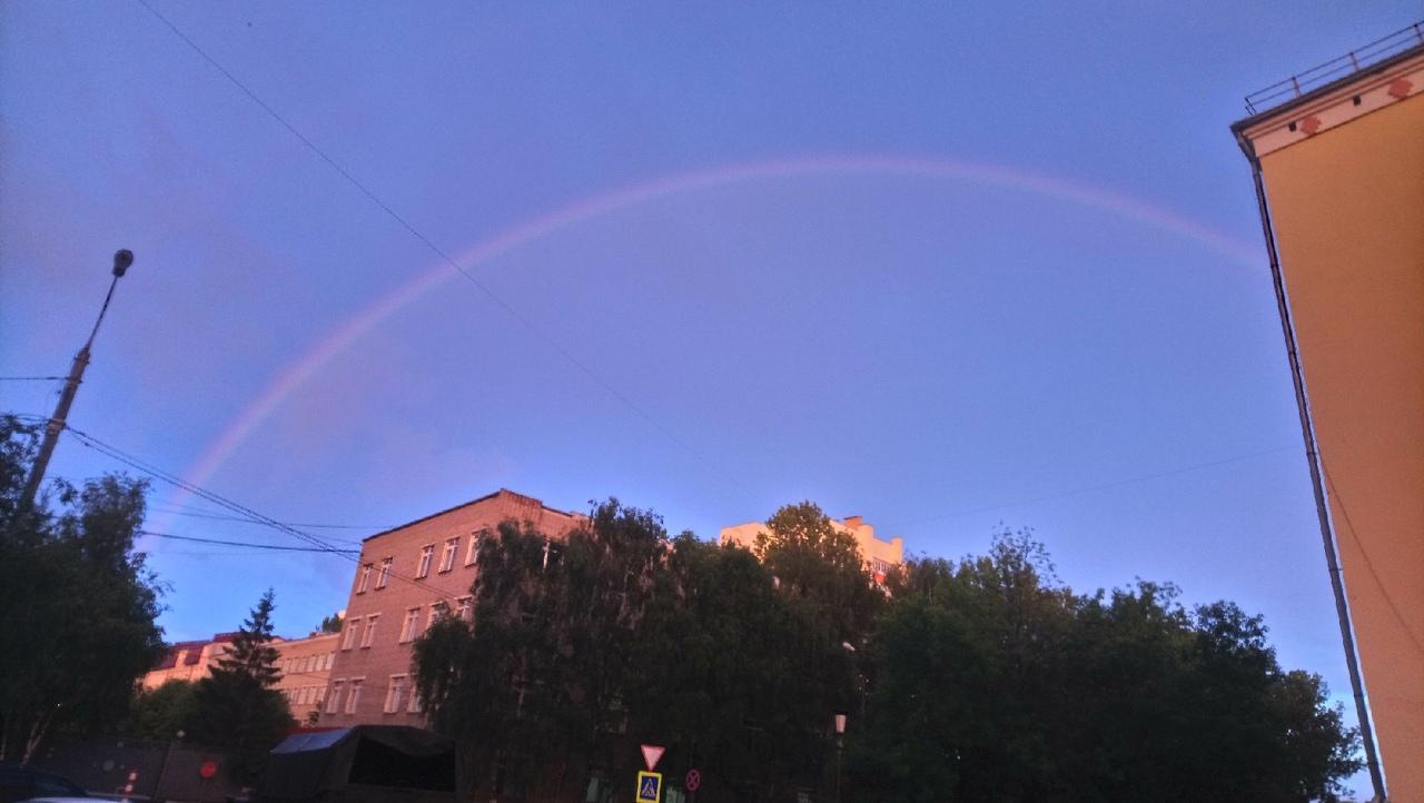 Ярославцы наблюдали двойную радугу: топ-10 фото