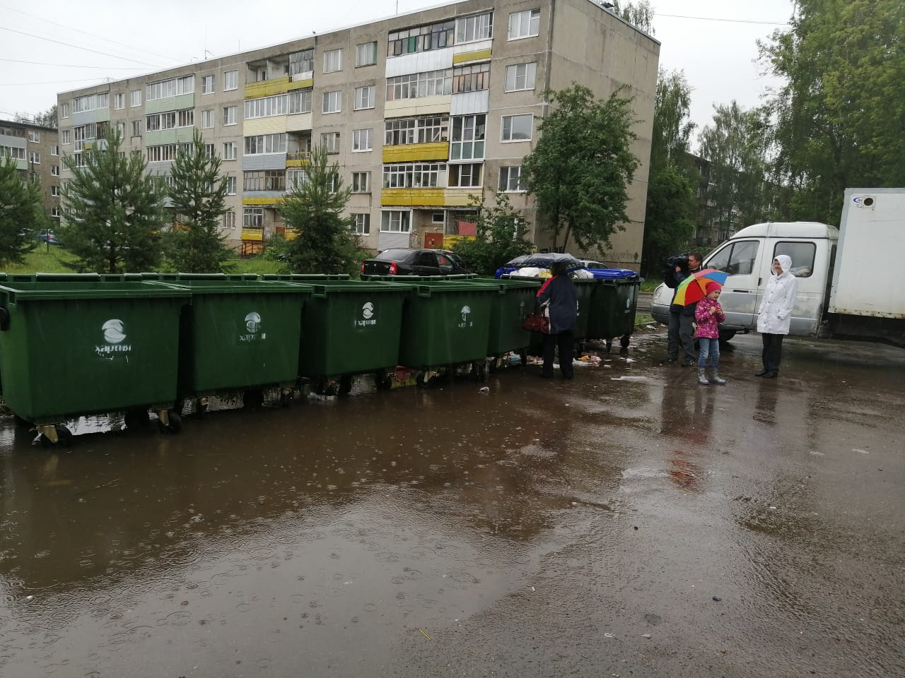 В Рыбинске проверили содержание контейнерных площадок: какие нарушения нашли