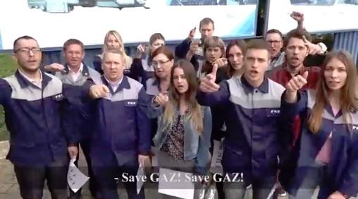 «Save GAZ!»: рабочие ярославского завода зачитали рэп против санкций – видео