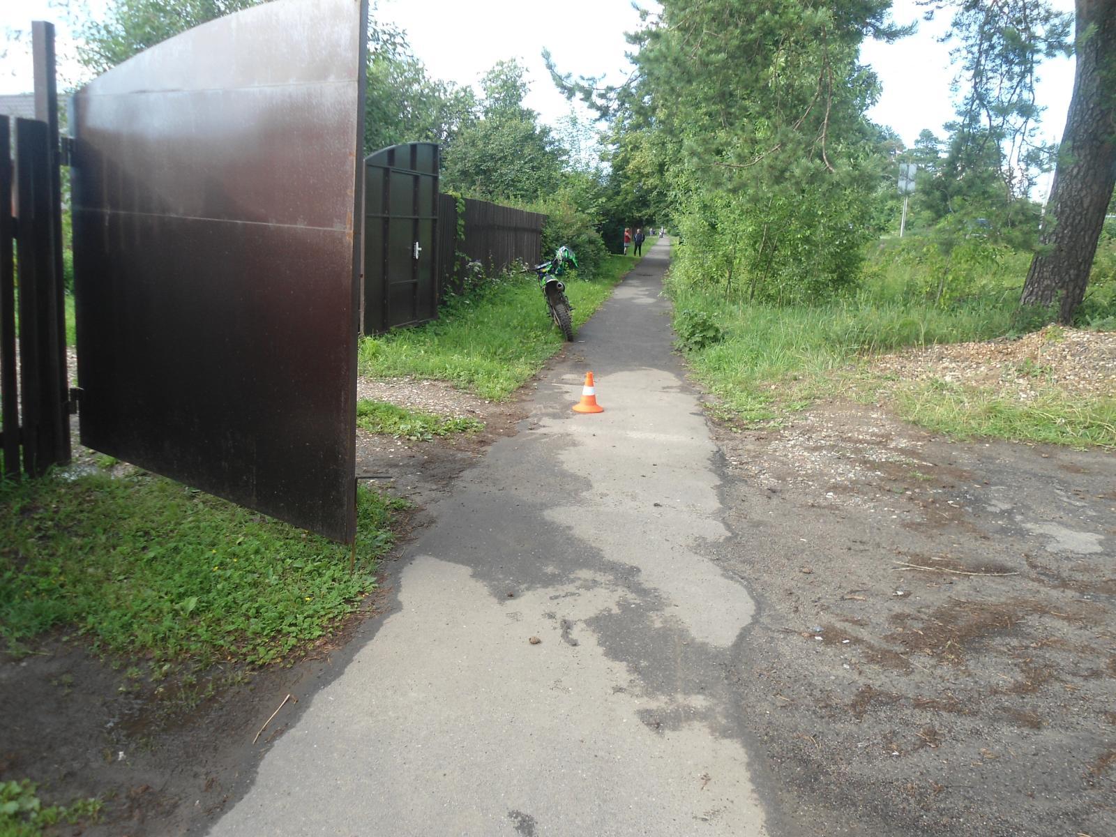 В Ярославском районе подросток без прав сбил пешехода