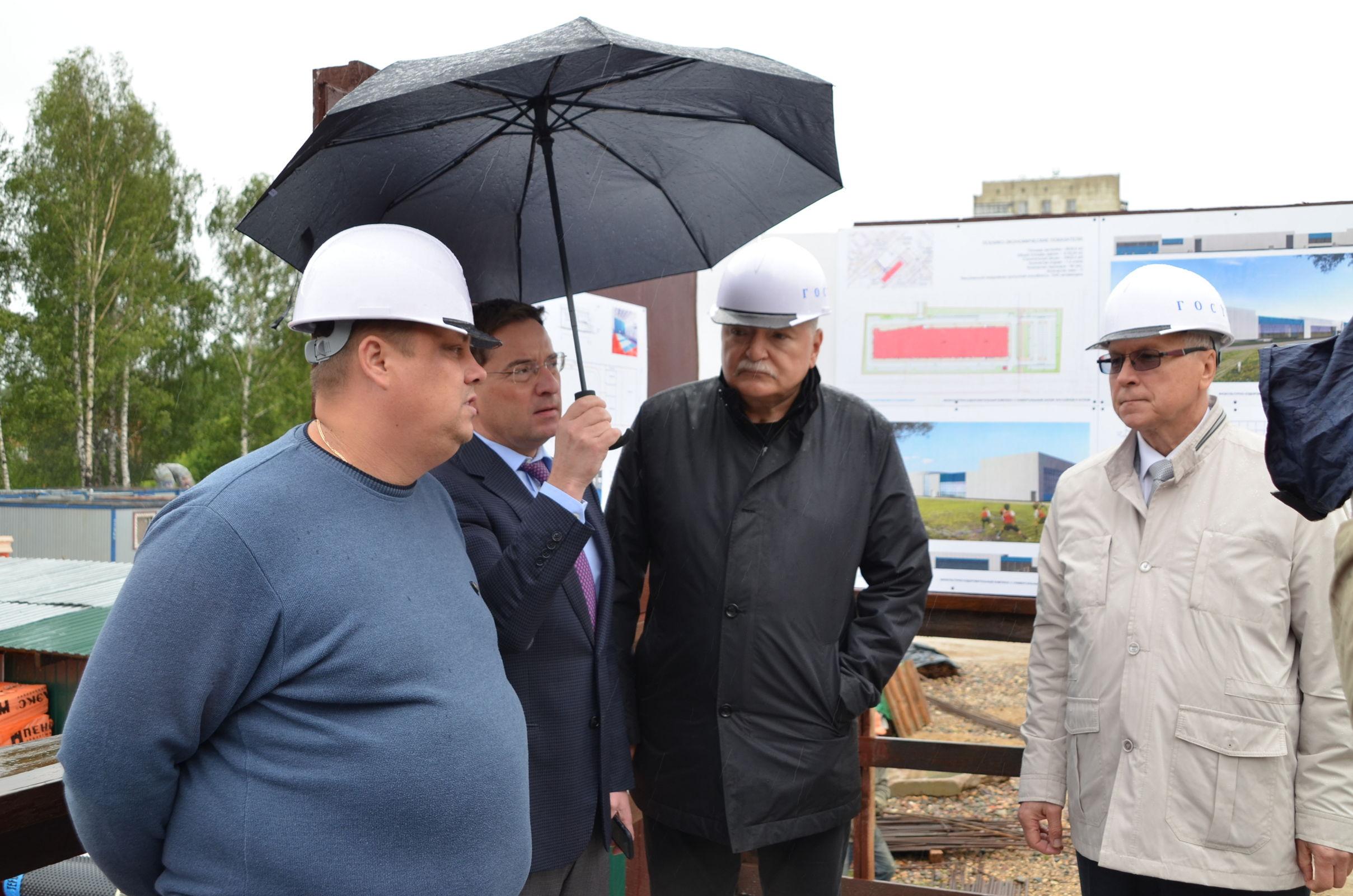 В Ярославле строится самый большой в регионе физкультурно-оздоровительный комплекс