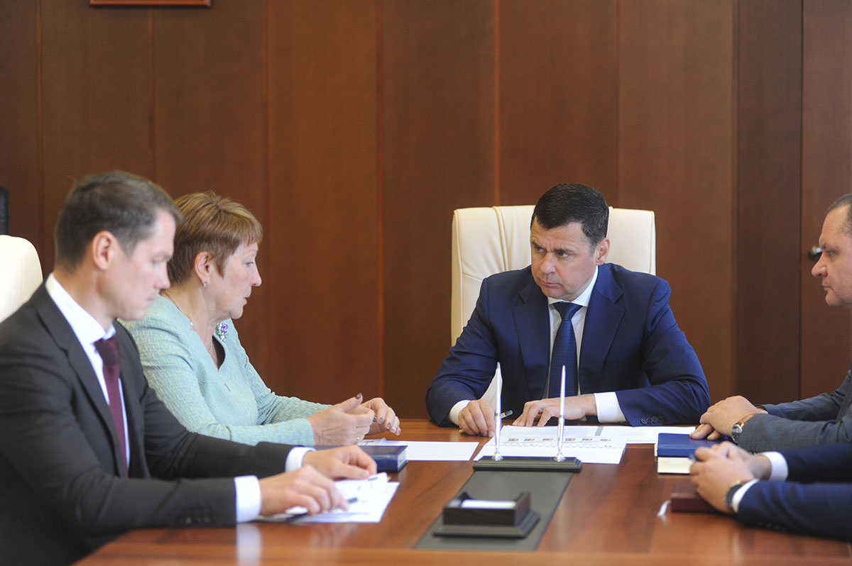 Дмитрий Миронов рассказал, какие новые объекты построят под Рыбинском