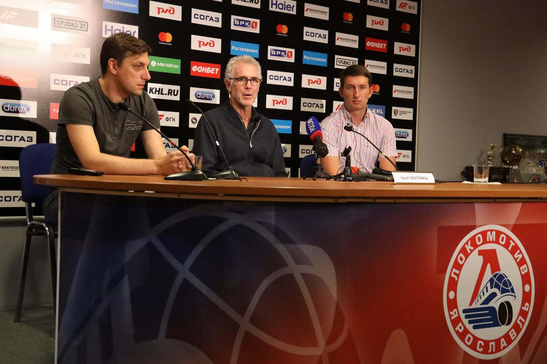 «Будем играть быстро и агрессивно»: главный тренер «Локомотива» встретился с журналистами – видео