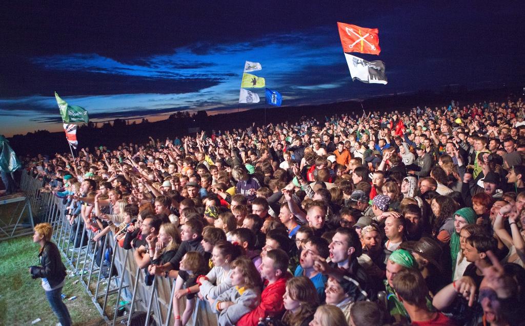 Десятки тысяч человек посетят музыкальные фестивали в Ярославской области