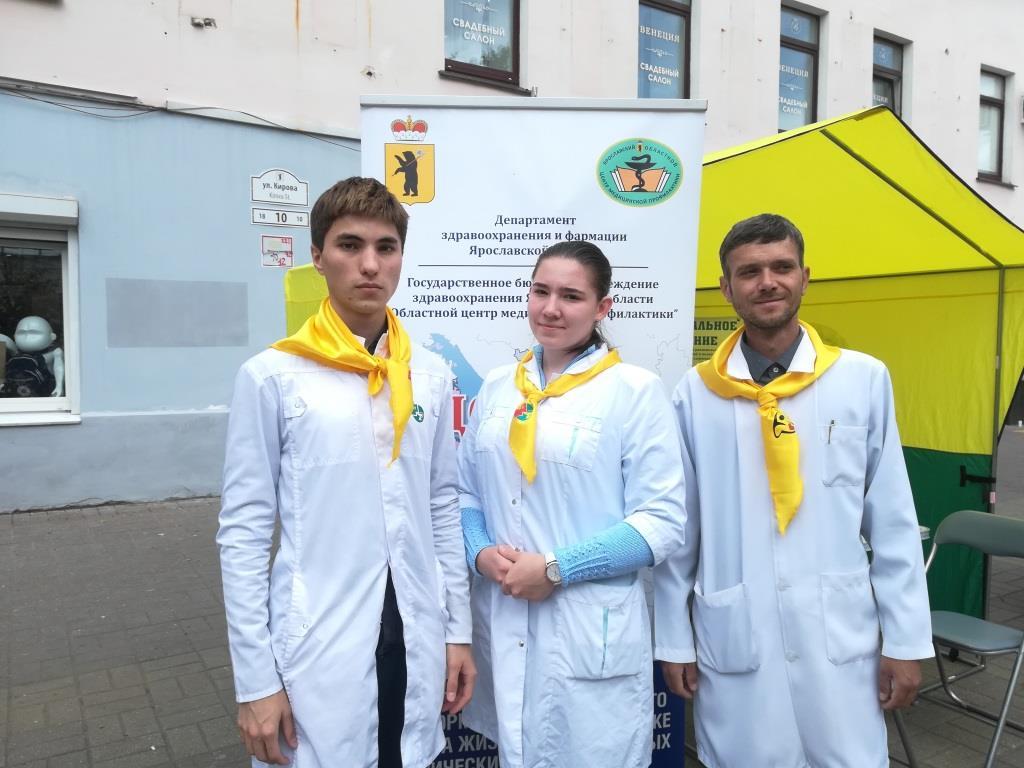 Медики проконсультировали 115 тысяч ярославцев по поводу питания