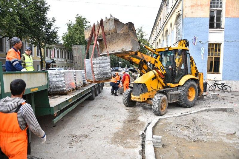 Асфальтировать улицу Республиканскую в Ярославле будут по ночам